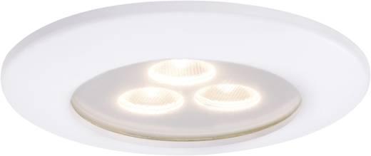 LED-Einbauleuchte 7.5 W Warm-Weiß Paulmann Pearly 92584 Weiß (matt)