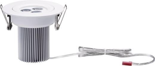LED-Einbauleuchte 7.5 W Warm-Weiß Paulmann Snowy 92605 Weiß (matt)