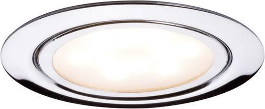 paulmann micro line 93552 led einbauleuchte 3er set 4 5 w warm wei chrom. Black Bedroom Furniture Sets. Home Design Ideas