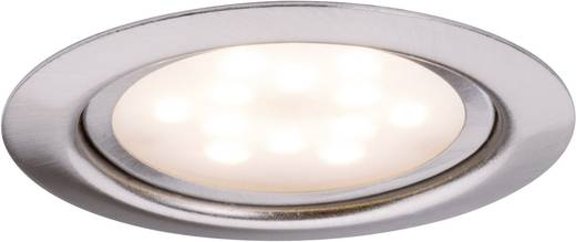Paulmann Micro Line 93556 LED-Einbauleuchte 4.5 W Warm-Weiß Eisen (gebürstet)