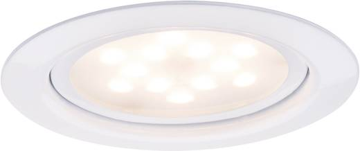 LED-Einbauleuchte 4.5 W Warm-Weiß Paulmann Micro Line 93555 Weiß