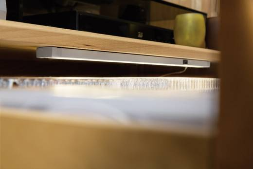 LED-Unterbauleuchte 6.5 W Warm-Weiß Paulmann 70399 Aluminium (matt)