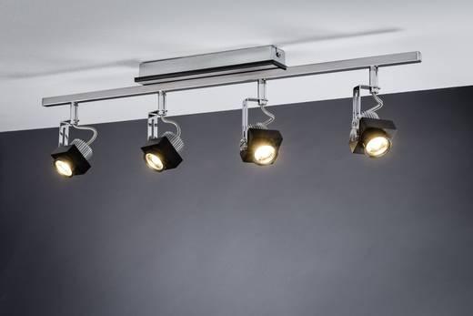 LED-Deckenstrahler 24 W Warm-Weiß Paulmann Phase 60258 Schwarz