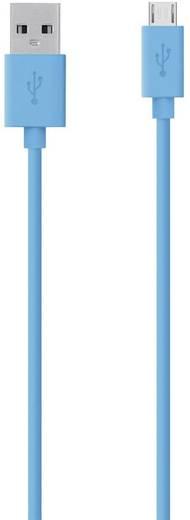 Belkin USB 2.0 Anschlusskabel [1x USB 2.0 Stecker A - 1x USB 2.0 Stecker Micro-B] 2 m Blau