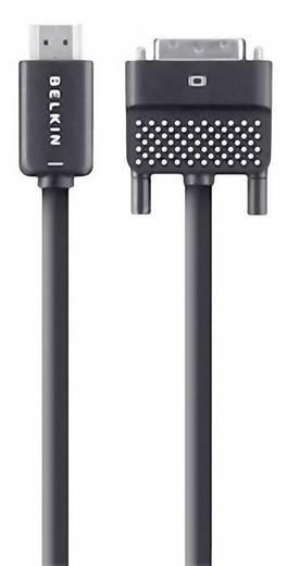 Belkin HDMI / DVI Anschlusskabel [1x HDMI-Stecker - 1x DVI-Stecker 24+1pol.] 3.6 m Schwarz