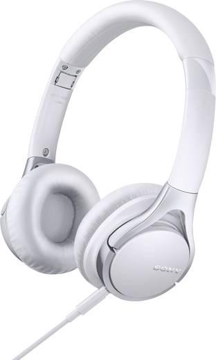 Kopfhörer Sony MDR-10RC On Ear Headset Weiß