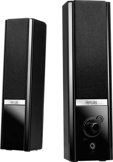 2.0 PC-Lautsprecher Kabelgebunden Hercules XPS 2.0 Gloss 8 W Schwarz
