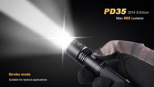 LED Taschenlampe Fenix PD35 batteriebetrieben 87 g Schwarz
