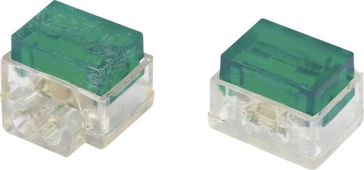 Einzeladerverbinder flexibel: 1.13-1.13 mm² starr: 1.13-1.13 mm² Polzahl: 2 Conrad Components SJT7 30 St. Grün