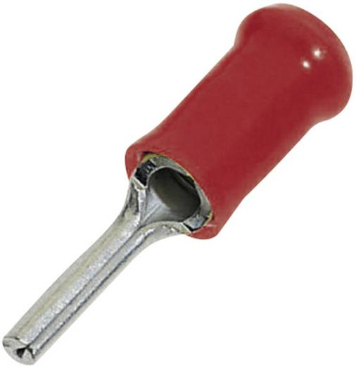 Stiftkabelschuh hakenförmig 0.205 mm² 1.60 mm² Teilisoliert Rot TE Connectivity 151467 1 St.