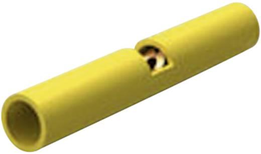 Stoßverbinder mit Sichtloch 0.1 mm² 0.4 mm² Vollisoliert Gelb TE Connectivity 323994 1 St.