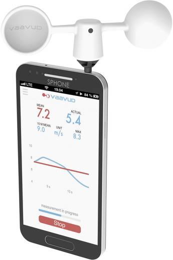 Windmesser vaavud Mjolnir für Smarthphone Messbereich Wind-Geschwindigkeit=2 bis 24 m/s