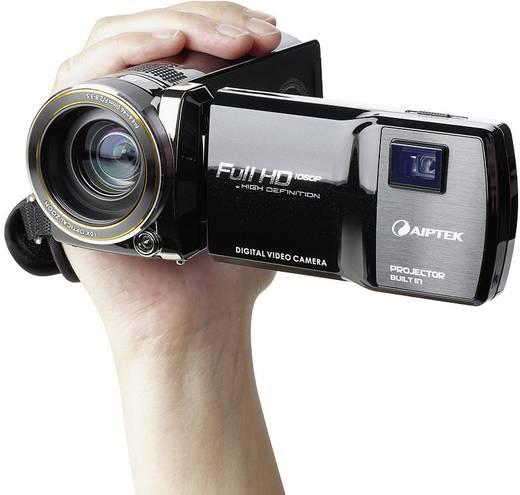 Aiptek ProjektorCam C25 Full HD Camcorder mit integriertem Pico Projektor