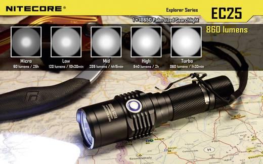 LED Taschenlampe NiteCore EC25 Cobra batteriebetrieben 860 lm 25 h 122 g