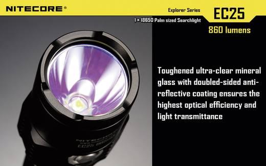 LED Taschenlampe NiteCore EC25 Cobra Warmweiß batteriebetrieben 122 g Schwarz