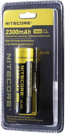 Spezial-Akku 18650 Li-Ion NiteCore NL183 3.7 V 2300 mAh