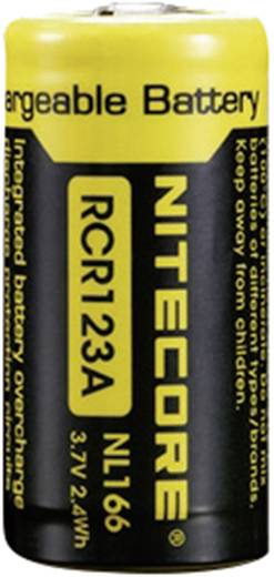 Spezial-Akku 16340 Li-Ion NiteCore NL166 3.7 V 650 mAh