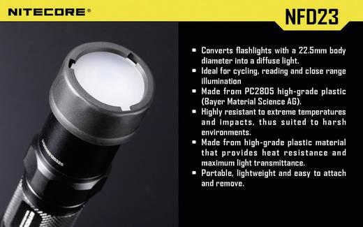 Diffusor MT1A, MT2A, MT1C und Taschenlampen mit einen Ø 23 mm NiteCore NITNFD23