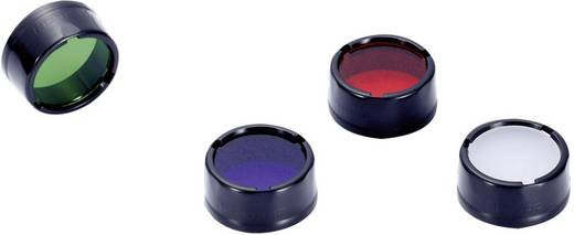Farbfilter Blau Passend für (Details): EC1, EC2, EA1, EA2, MT2C, P12, SRT3, SRT5 und Taschenlampen mit einen Ø 25 mm NiteCore NITNFB25