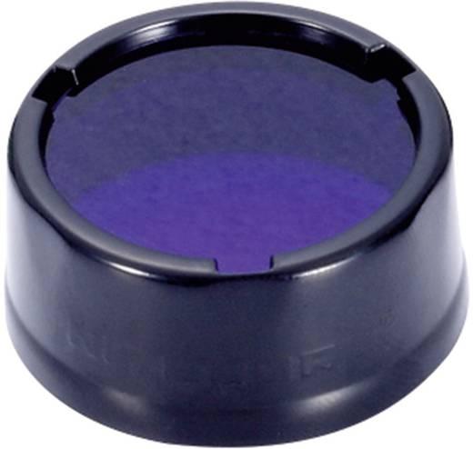Farbfilter Blau EC1, EC2, EA1, EA2, MT2C, P12, SRT3, SRT5 und Taschenlampen mit einen Ø 25 mm NiteCore NITNFB25