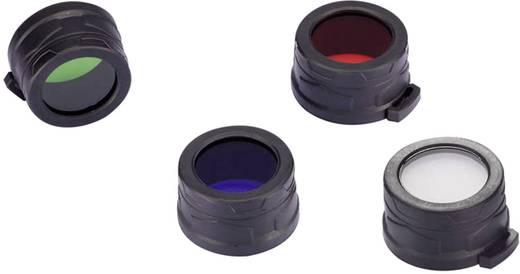 Farbfilter Rot MH25, EA4, P25, P16, P15, SRT7, CR6, CG6, CB6, CI6, CU6 und Taschenlampen mit einen Ø 39 - 42 mm NiteCore