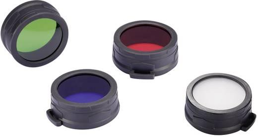 Farbfilter Rot Passend für (Details): MH40, TM11, TM15, EA8 und Taschenlampen mit einen Ø 59 - 62 mm NiteCore NITNFR60