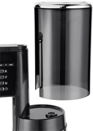 Kaffeemaschine WMF LINEO Glas Edelstahl, Schwarz Fassungsvermögen Tassen=12 Display, Timerfunktion, Warmhaltefunktion