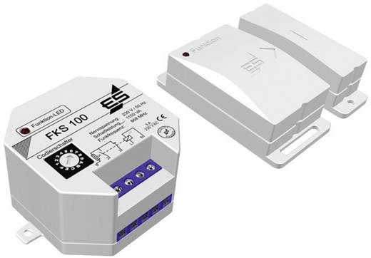 Funk-Klimasteuerung -15 bis 40 °C Schabus FKS 100 Weiß