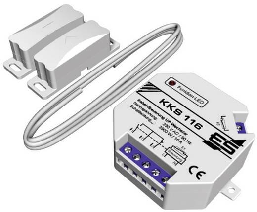 Kabel-Klimasteuerung -15 bis 40 °C Schabus KKS116 Weiß