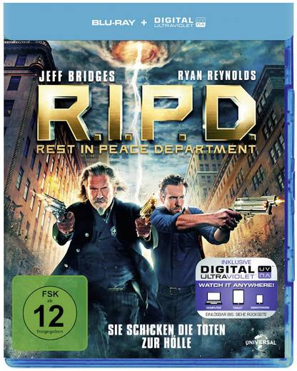 blu-ray R.I.P.D. FSK: 12