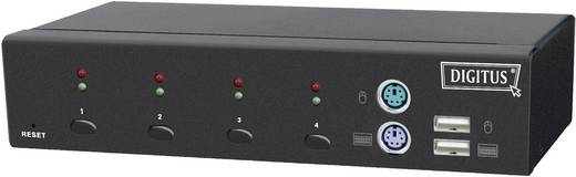 4 Port KVM-Umschalter VGA USB, PS/2 2048 x 1536 Pixel DC-12202-1 Digitus