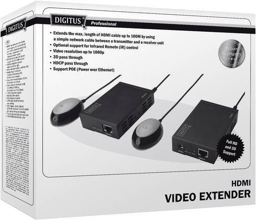 Digitus HDMI HDBase T Extender über Netzwerkabel, 100 m, bis zu 4k Auflösung