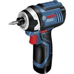 Aku rázový utahovák Bosch Professional GDR 10,8-LI 06019A6977, 10.8 V, 2 Ah, Li-Ion akumulátor - Bos