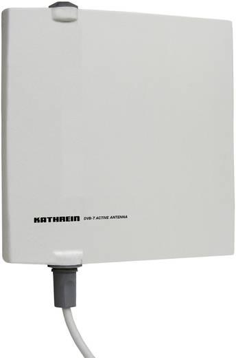 Aktive DVB-T/T2 Flachantenne Kathrein BZD 40 Außenbereich Verstärkung=18 dB Grau