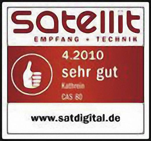 SAT Antenne 75 cm Kathrein CAS 80 Reflektormaterial: Aluminium Rot-Braun