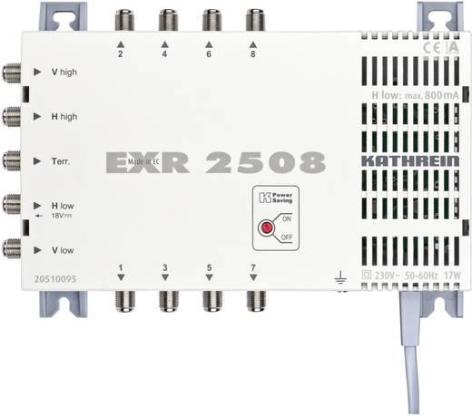 Kathrein EXR 2508 SAT Multischalter Eingänge (Multischalter): 5 (4 SAT/1 terrestrisch) Teilnehmer-Anzahl: 8