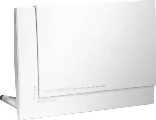 Aktive DVB-T/T2 Flachantenne Kathrein BZD 30 Innenbereich Verstärkung=18 dB Weiß