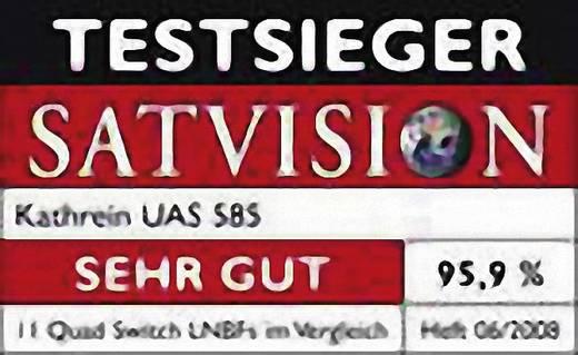 Quad-LNB Kathrein UAS 585 Teilnehmer-Anzahl: 4 mit Switch