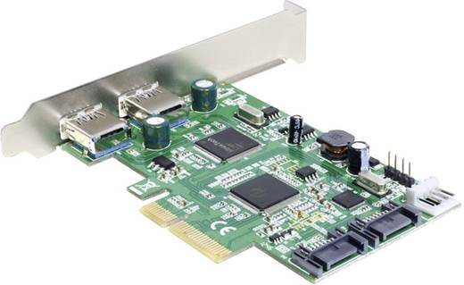 2 Port USB 3.0-Controllerkarte USB-A PCIe Delock