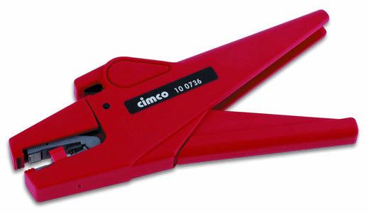 Automatische Abisolierzange Geeignet für Leiter mit PVC-Isolation 0.2 bis 6 mm² 9 bis 24 0.5 bis 3 mm Cimco Maxim 6 100736