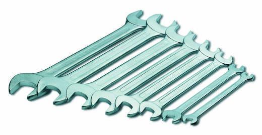 Doppel-Maulschlüssel-Satz 8teilig 6 - 22 mm DIN 3110, DIN ISO 3318 Cimco 112310