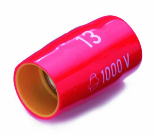 "Außen-Sechskant Steckschlüsseleinsatz 13 mm 3/8"" (10 mm) Produktabmessung, Länge 45 mm Cimco 112525"