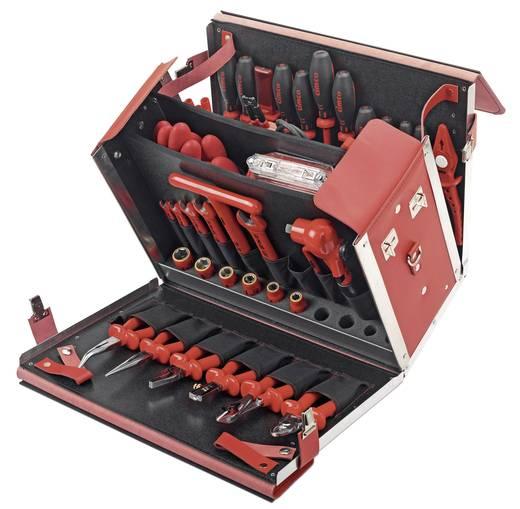 Cimco 170378 Elektriker Werkzeugkoffer bestückt 54teilig