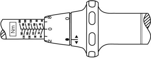 """Hazet 5122-1CT Drehmomentschlüssel mit Knarre 1/2"""" (12.5 mm) 40 - 200 Nm"""