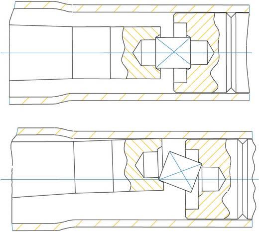 """Hazet 5110-1 CT 5110-1 CT Drehmomentschlüssel mit Knarre 3/8"""" (10 mm) 10 - 60 Nm Kalibriert nach ISO"""