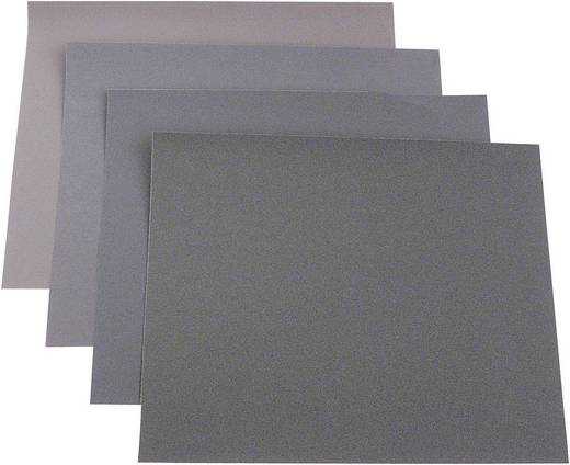 Handschleifpapier-Set Körnung 40, 100, 150, 180 (L x B) 280 mm x 230 mm 812316 50 St.