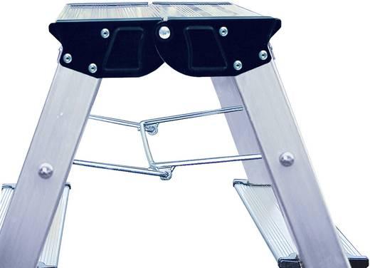 aluminium doppel klapptritt klappbar arbeitsh he max m krause 130037 silber 1 7 kg kaufen. Black Bedroom Furniture Sets. Home Design Ideas