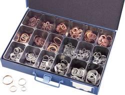 Sada těsnicích kroužků, DIN 7603, 650 ks, v kufříku