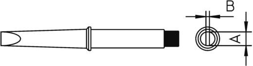 Lötspitze Meißelform, gerade Weller Professional 4CT5C7-1 Spitzen-Größe 3.2 mm Inhalt 1 St.