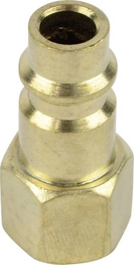 "Druckluft-Stecknippel 1/4"" (6.3 mm) Brüder Mannesmann"